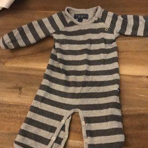Tooby Doo New York Grey Onsie striped